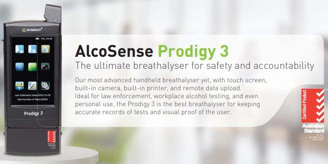 AlcoSense Prodigy 3